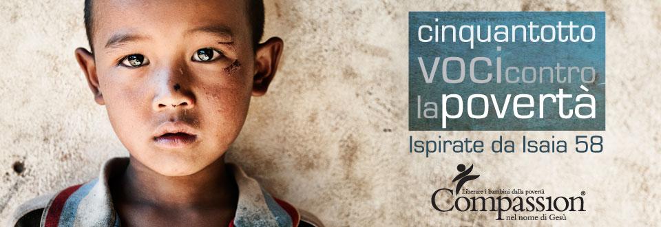 Cinquantotto voci contro la povertà
